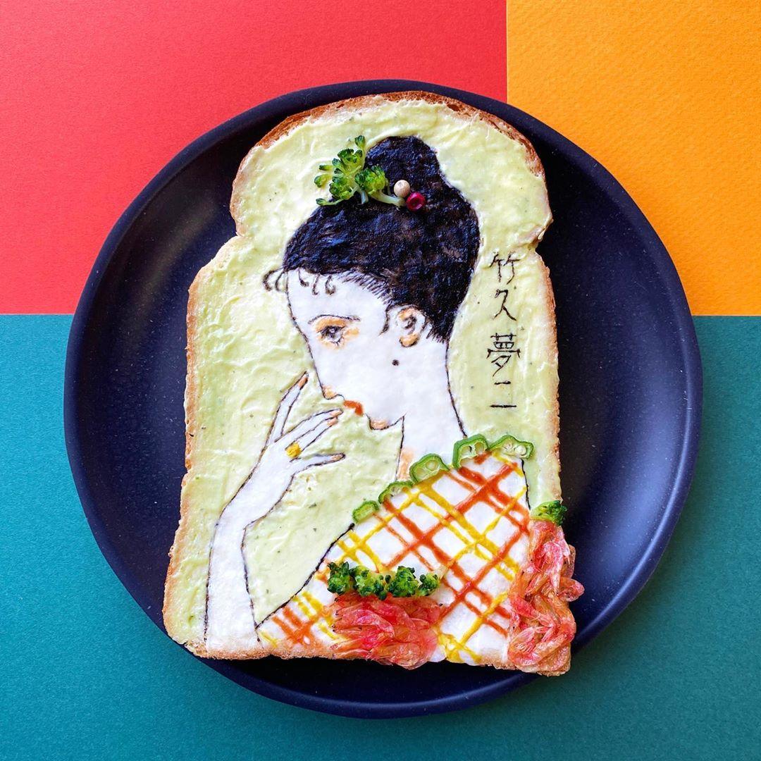Mengintip Kreasi Roti Tawar Karya Manami Sasaki