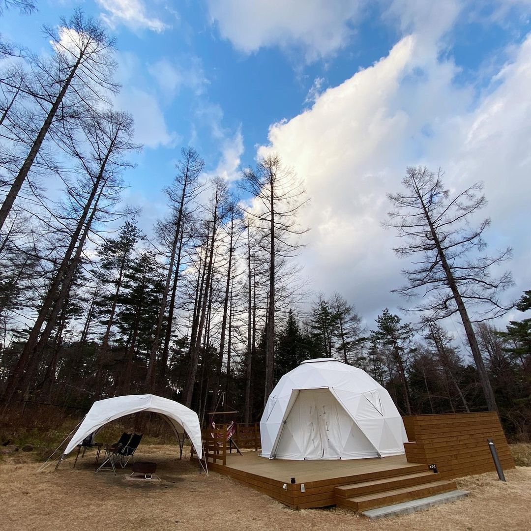 4 Spot Glamping Terbaik Di Jepang Yang Wajib Dikunjungi