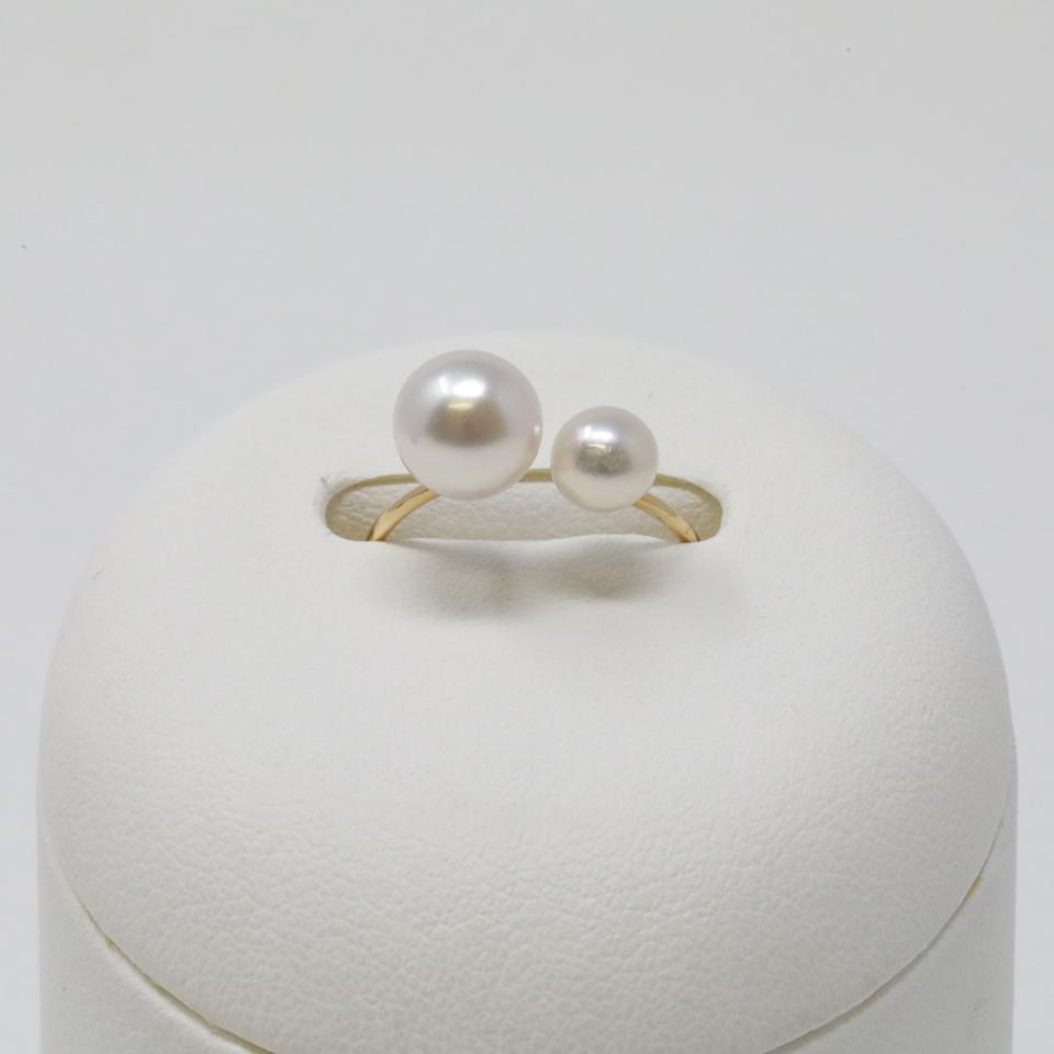 Pearl Falco Akoya Pearl Ring