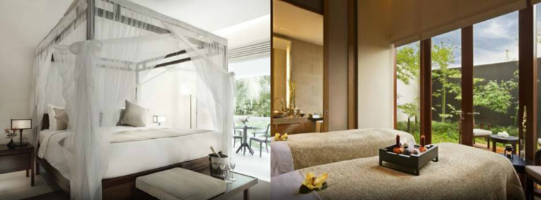 Bedrooms of 2 resorts