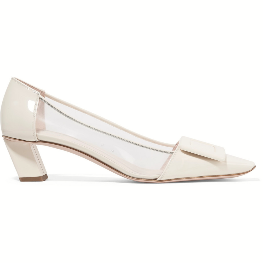 belle vivier pvc pumps