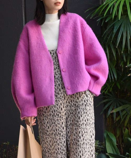 Woman in Pink Jacket