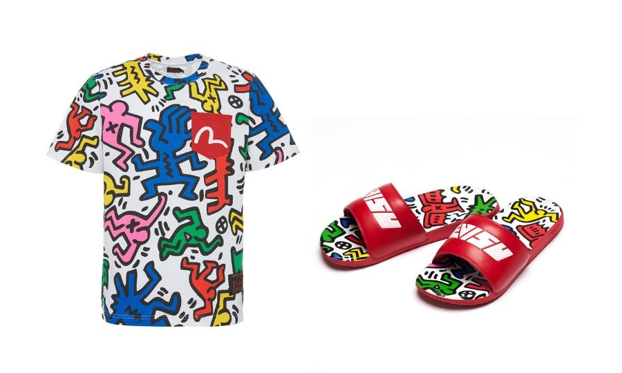 Clozette Covets: SS19 EVISU x Keith Haring