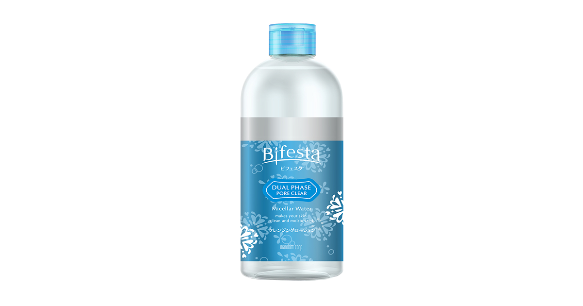 Bifesta Dual Phase Pore Clear Micellar Water