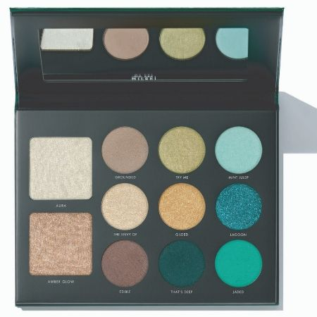 Gilded Jade Eye and Face Palette