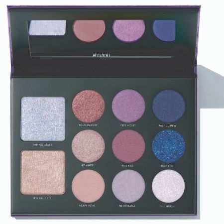 Gilded Violet Eye and Face Palette