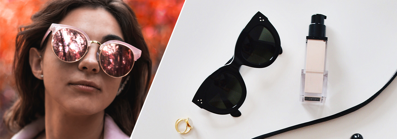 Update your sunnies collection with the latest trends. From retro silhouettes to bold prints, here are the most interesting sunglasses designs of today.