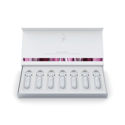face essence in small tubes in a box