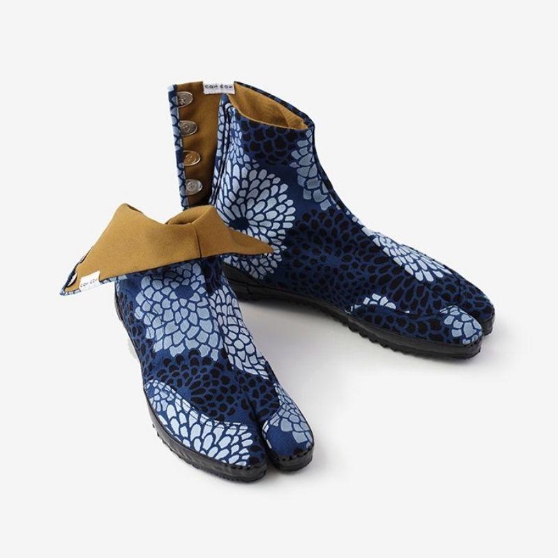 Festival Split Toe Tabi Shoes/Chrysanthemum