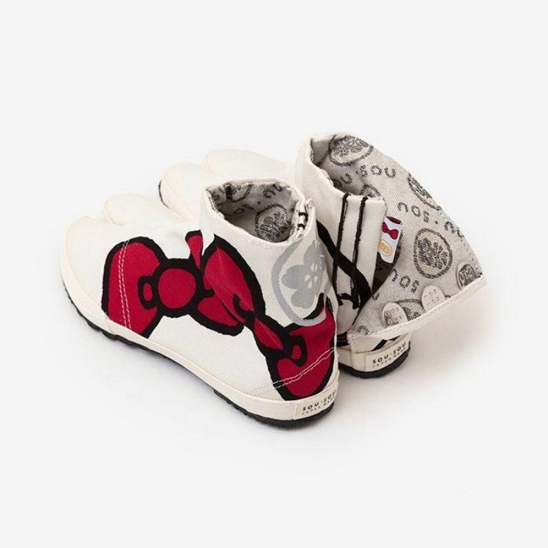 Split Toe Tabi Shoes/Hello Kitty x SOU・SOU Tsukumo