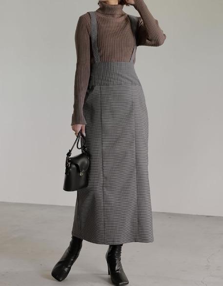Woman in Jumper Dress