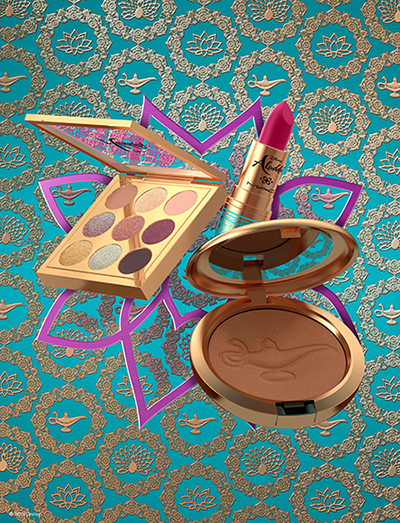 A makeup collection based on Disney's Aladdin