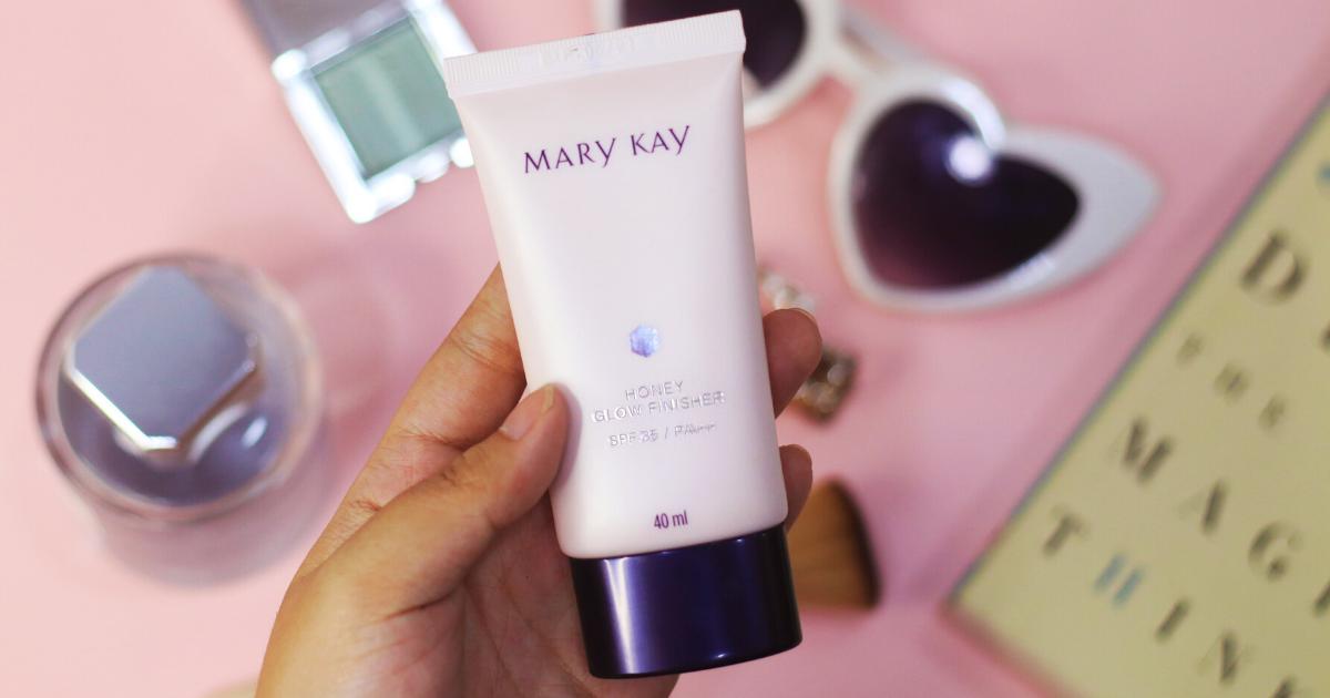 Review Mary Kay Honey Glow Finisher Clozette