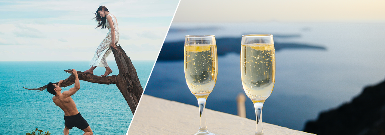 Valentine's Day is just around the corner. Here are some fun and romantic getaway suggestions for a memorable trip with your better half.