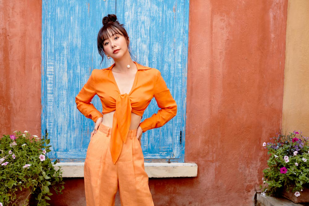 Pomelo Fashion Cute Orange Outfit