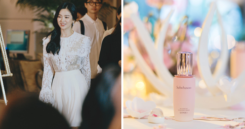 Song Hye Kyo Sulwhasoo Bloomstay Vitalising Line Event