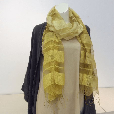 Natural Dye Stole by FUGA product shot