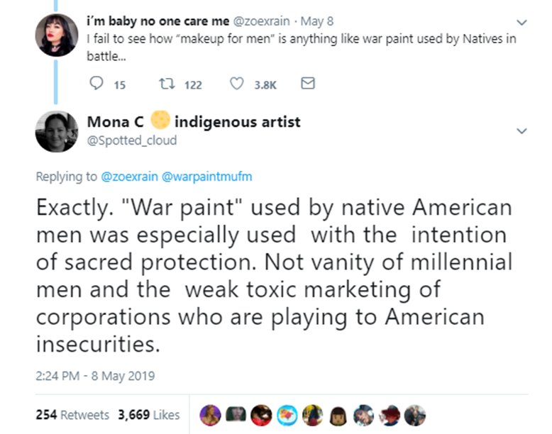 War Paint's cultural insensitivity