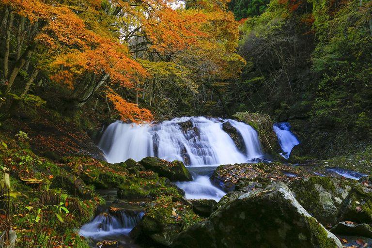 Eryuda waterfall Fukushima