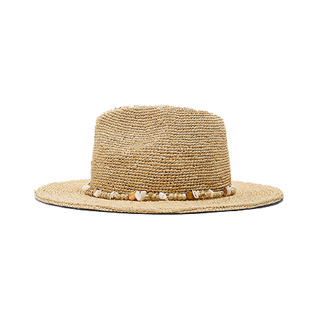For the beach, you should try hat brands which offer weaved tropical-style hats
