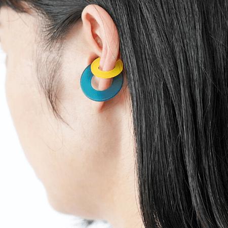 Coloured Tsugi Ear Cuffs