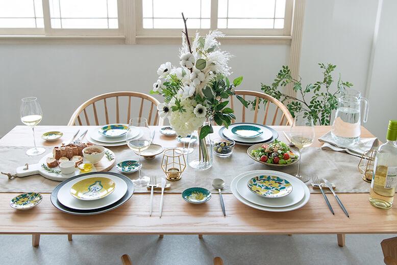 Dining table arrangement ideas
