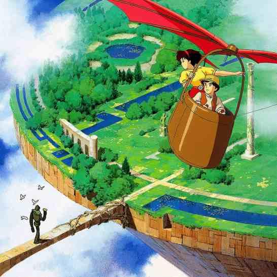 Menyusuri Tomogashima, Dunia Laputa Pada Film Ghibli