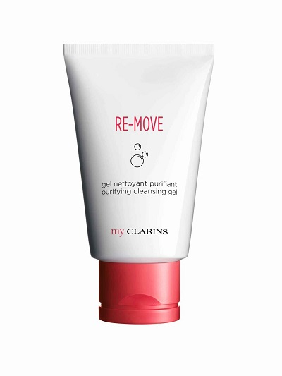 myClarins cleansing gel