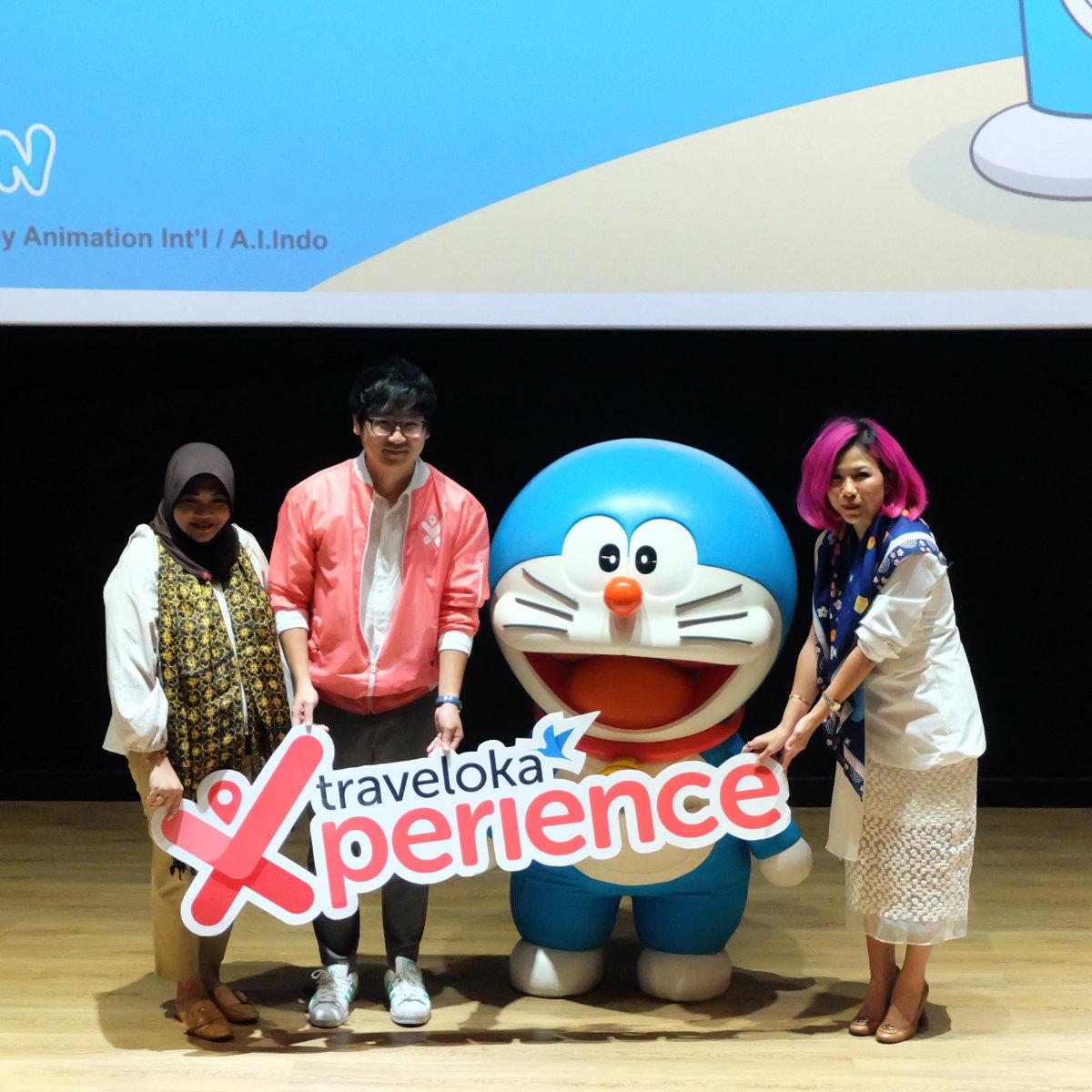 Ragam Gadget Doraemon Kini Hadir Dalam Traveloka Xperience