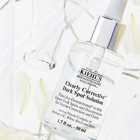 A photo of the Kiehl's Clearly Corrective Dark Spot Solution